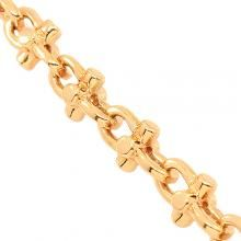 Gold Chain For Men Rose Gold Mens Fancy Chain 7 mm - Avianne Jewelers Gold Jewelry, Chain Jewelry, Gold Chains For Men, Solid Gold, Rose Gold, Fancy, Jewels, Charm Bracelets, Gifts