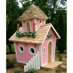 Kids Crooked House Princess Playhouse