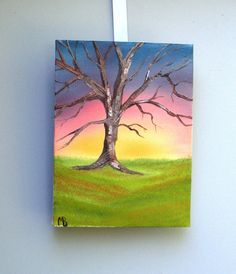 Original Oil Painting Solitiude oil on canvas by Matt by luvbuzz, $35.00
