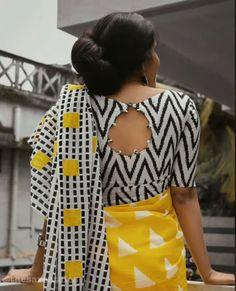 Blouse Designs High Neck, Cotton Saree Blouse Designs, Simple Blouse Designs, Stylish Blouse Design, Kalamkari Blouse Designs, Back Neck Designs, Sari Blouse, Lehenga, Sarees