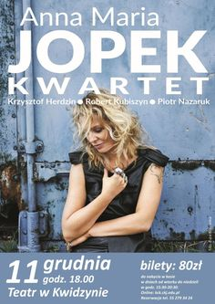 "Koncert ""Anna Maria Jopek Kwartet"", 11.12.2016 r."