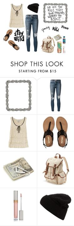 """""""Young~Wild~Free"""" by hellokitty522 ❤ liked on Polyvore featuring Olivia Riegel, Frame Denim, Prada, Aéropostale, Crate and Barrel, Candie's and Acne Studios"""