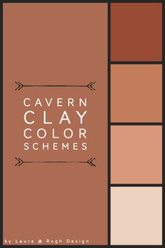 Cavern Clay Color Schemes Color schemes for Cavern Clay SW Need help picking a matching color Terra Cotta Paint Color, Rust Color Paint, Wall Paint Colors, Exterior Paint Colors, Exterior House Colors, Paint Colors For Home, Rust Color Schemes, Bedroom Color Schemes, Terracotta Paint