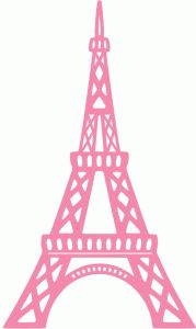 Eiffel Tower Silhouette Clipart Free Stock Photo