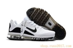 newest collection e4998 14c68 New Coming Nike Air Max 2017 5Max KPU White Black Men Shoes Running  Sneakers, Running