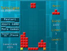 Un juego clásico llamado Tetris donde tienes que cambiar la forma de los cubos
