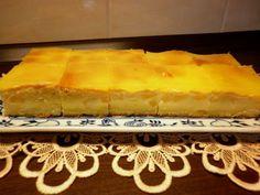 Hrnčekový koláč s jogurtom a broskyňami Pie, Desserts, Food, Torte, Tailgate Desserts, Cake, Deserts, Fruit Pie, Eten