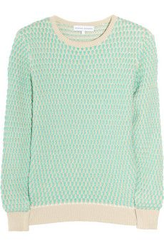 Having a moment with Mint this season. Loving this Jonathan Saunders top on NET-A-PORTER.COM