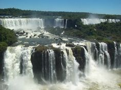 Iguazu Falls - a picturesque distraction as Luisa escapes from Brazil into Paraguay in A Disturbed Girl Implodes.    www.disturbed-girl.com