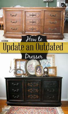How to Update an Outdated Dresser | Prodigal Pieces | www.prodigalpieces.com