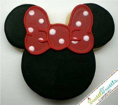 Minnie Mouse Cookies 2