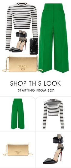 """Business"" by laruestyle ❤ liked on Polyvore featuring Marni, Miss Selfridge, Prada and Christian Louboutin"