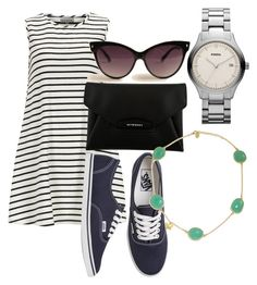 """""""love in paris<3"""" by mihaela1234 ❤ liked on Polyvore featuring Alice & You, Vans, Givenchy, A.J. Morgan, Green & Spring, women's clothing, women's fashion, women, female and woman"""
