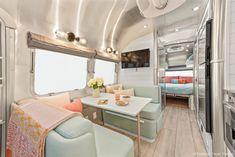 Airstream Travel Trailers, Airstream Living, Airstream Remodel, Airstream Renovation, Airstream Interior, Vintage Travel Trailers, Vintage Airstream, Camper Trailers, Vintage Caravans