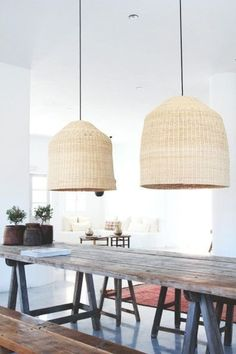 Beach House life+style - great lamps