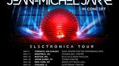 Jean-Michel Jarre Electronica North America Tour 2017 Trailer