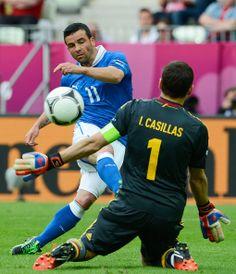 Iker Casillas - Spain v Italy - Group C: UEFA EURO 2012