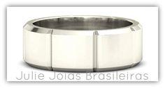 Anel em ouro branco 750/18k (750/18k white gold ring)