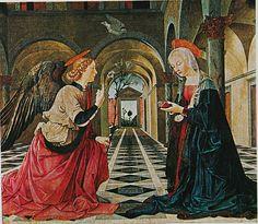 Maître de l'annonciation Gardner, Annonciation Gardner, 1480