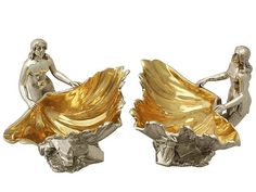 Sterling Silver Salts - Antique Victorian