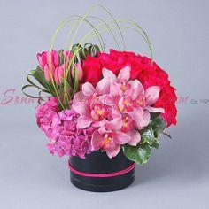 Sonny Alexander Flowers, pink small floral arrangement, flowers, valentines day, love!