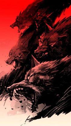 Graffiti Wallpaper, Wolf Wallpaper, Dark Wallpaper, Iphone Wallpaper, Werewolf Art, Dope Art, Dark Fantasy Art, Horror Art, Character Art