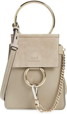 Chloé Faye Small Suede   Leather Bracelet Bag 9c81b83ad851f