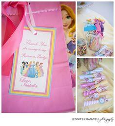 A Princess Party for my Princess {princess birthday party, princess party theme, 2 year birthday party}