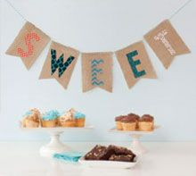 """Take on a """"Sweet Treats"""" fabric project in this Cricut tutorial for beginners. Use your Cricut Maker to work with cotton and even burlap! We'll use Design Sp. Arts And Crafts Projects, Crafts For Kids, Diy Projects, Cricut Banner, Cricut Tutorials, Cricut Ideas, Craft Free, Cricut Creations, Joanns Fabric And Crafts"""