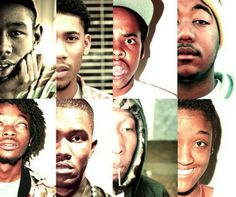 this is odd future, i love their music especially: frank ocean, hodgy beats and tyler the creator The Music Man, Music Is Life, My Music, Syd Tha Kyd, Hodgy Beats, Odd Future Wolf Gang, Earl Sweatshirt, Band Pictures, My Life Style