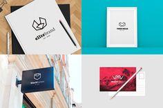MEGA BUNDLE 1100 Logos & Badges by DesignDistrict on @creativemarket