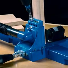 The Kreg Jig® incorporates the best features of every Kreg Jig® that came before, with innovative upgrades you've never seen. Built In Storage, Tool Storage, Kreg Jig K5, Kreg Pocket Hole Jig, Kreg Tools, Fireplace Remodel, Dust Collection, Carpentry, Floor Plans