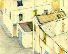 Carnets de croquis de Yann Kebbi