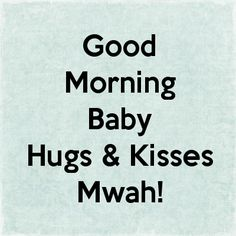Good Morning Baby Kiss Wallpaper | Good Morning