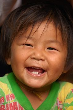 Smiling Toddler from Thailand