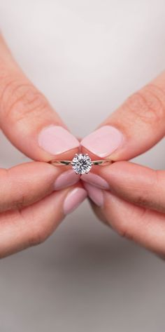 This style is a 6-Prong Crown Solitaire Engagement Ring. Click through to start customizing! #gorgeousweddingringsjewelry #solitairering