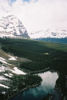 greaterland:  Mary Lake, Rocky Mountains