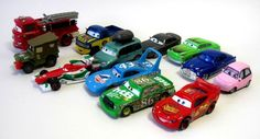 Disney Pixar Cars Lot of 12 Die Cast Cars Doc Hudson Chick Hicks Lightning Petty #Disney