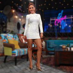 Joselyn Juncal conductora del programa El Coque Va. GalaTV