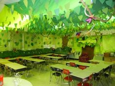 Rainforest theme room