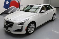 2015 Cadillac CTS Luxury Sedan 4-Door 2015 CADILLAC CTS 2.0T LUX PANO ROOF NAV REAR CAM 23K #115314 Texas Direct Auto