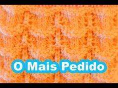 PONTO DE TRICÔ PARA CASAQUINHO DE BEBÊ - YouTube