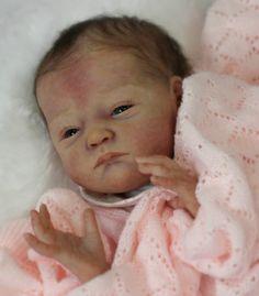 Reborn Baby Girl doll Will by Natalie Scholl | eBay