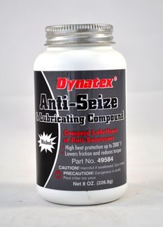 Nickel Anti-Seize & Lubricating Compound 8 oz. brush top bottle Dynatex