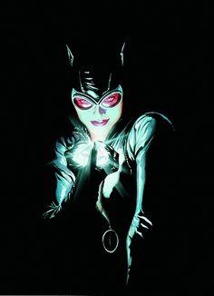 BATMAN #685 by Alex Ross Catwoman FACES OF EVIL