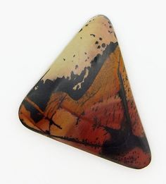 Indian Paint Stone  Hand Cut Freeform Gemstone by WildRavenStudio, $24.00