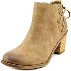 Roxy Dustyn Round Toe Synthetic Ankle Boot