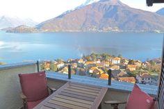Aussicht von der Terrasse - Attico La Vela in Italien, Lombardei, Comer See
