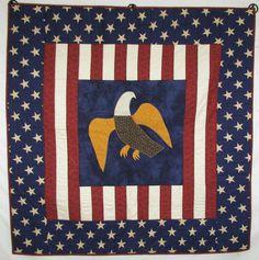 Quilting Eagles Patriotic On Pinterest Patriotic Quilts
