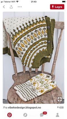 You can`t use up CREATIVITY. Knitted Mittens Pattern, Knitting Patterns, Fair Isle Knitting, Knitting Yarn, Hand Knitting, Vibeke Design, Icelandic Sweaters, Tejidos, Embroidery